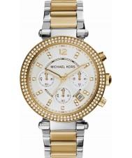 Michael Kors MK5626 Ladies Parker Two Tone Steel Chronograph Watch
