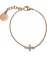 Edblad 31630068 Ladies Windsor Rose Gold Plated Bracelet