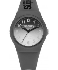 Superdry SYG198EE Ladies Urban Laser Grey Silicone Strap Watch