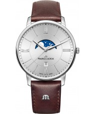 Maurice Lacroix EL1108-SS001-110-1 Mens Eliros Brown Leather Strap Watch