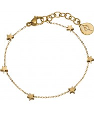 Edblad Ladies Star Mini Multi Gold Bracelet