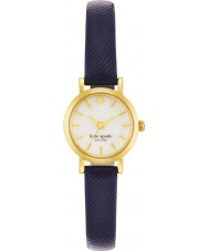 Kate Spade New York 1YRU0456 Ladies Tiny Metro Navy Leather Strap Watch