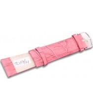 Krug-Baumen TC19721G Orange Pink Leather Replacement Mens Principle Strap