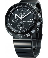 Issey Miyake AZ001 Mens Trapezoid Black Chronograph Watch