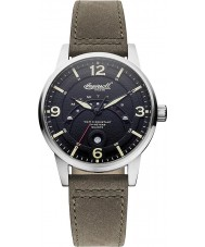 Ingersoll INQ026BKKH Mens Marlborough Black Khaki Watch