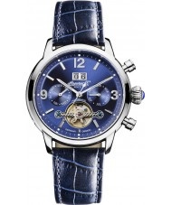 Ingersoll IN1826BL Mens Belle Star Automatic Blue Chronograph Watch
