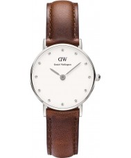 Daniel Wellington DW00100067 Ladies Classy St Mawes 26mm Silver Watch