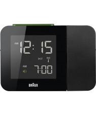 Braun BNC015BK-RC Black Digital Clock