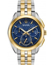 Bulova 98A159 Mens Progressive Dress CURV Watch