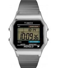 Timex T78587 Mens Silver Classic Digital Chronograph Watch
