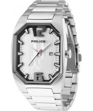 Police 12895JS-04M Mens Octane All Silver Watch