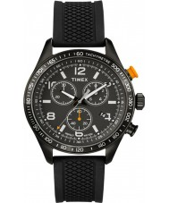 Timex T2P043 Mens Black Kaleidoscope Chronograph Watch