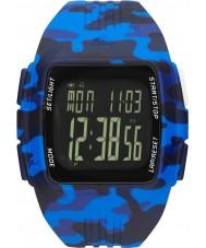 Adidas Performance ADP3223 Mens Duramo Blue Rubber Strap Watch
