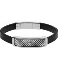 Emporio Armani EGS2139040 Mens Deco Tonneau Mesh Two Tone Steel Bracelet