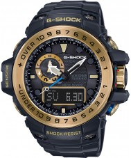Casio GWN-1000GB-1AER Mens G-Shock Black Solar Powered Compass and Altimeter Combi Watch