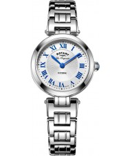 Rotary LB90186-01 Ladies Les Originales Lucerne Silver Steel Bracelet Watch