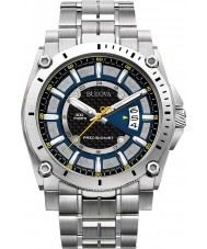 Bulova 96G131 Mens Precisionist Champlain Silver Watch