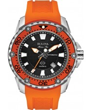 Bulova 98B207 Mens Marine Star - Satellite Orange Watch