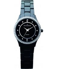Skagen 347SBXBC Ladies Ceramic Black Watch