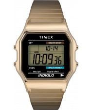 Timex T78677 Mens Gold Classic Digital Chronograph Watch