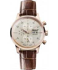 Ingersoll IN2819RCR Mens Columbia No1 Automatic Brown Chronograph Watch