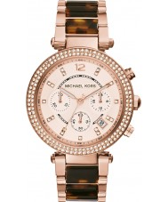 Michael Kors MK5538 Ladies Parker Two Tone Chronograph Watch