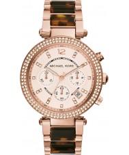 Michael Kors MK5538 Ladies Parker Two Tone Chronograph Watch