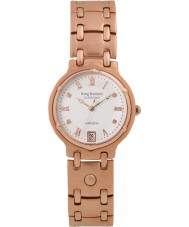 Krug Baümen 5116RDM Charleston 4 Diamond Rose Gold Dial Gold Strap