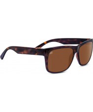 Serengeti Positano Shiny Dark Tortoiseshell Polarized Drivers Sunglasses