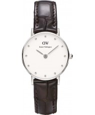 Daniel Wellington DW00100069 Ladies Classy York 26mm Silver Watch