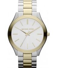 Michael Kors MK3198 Ladies Runway Two Tone Steel Bracelet Watch