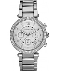 Michael Kors MK5353 Ladies Blair Silver Tone Chronograph Watch