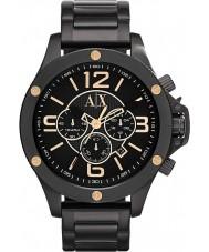 Armani Exchange AX1513 Mens Black IP Chronograph Sports Watch