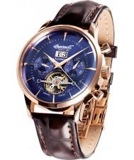 Ingersoll IN1709RBL Mens Kearny Brown Leather Strap Watch
