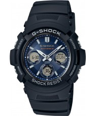Casio AWG-M100SB-2AER Mens G-Shock Black Solar Powered Combi Watch