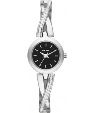 DKNY NY2174 Ladies Crosswalk Silver Stone Set Watch