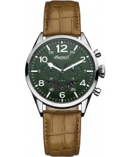Ingersoll INQ029GRSL Mens Compton Green Brown Watch