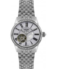Rotary LB90510-41 Ladies Les Originales Automatic Silver Watch