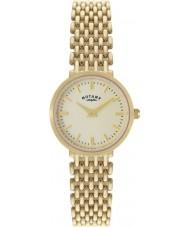Rotary LB10900-03 Ladies Precious Metals 9Ct Gold Case Watch