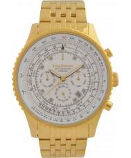 Krug-Baumen 600111DSA Mens Air Traveller Diamond Automatic Watch