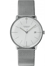 Junghans 027-4002-44 Max Bill Silver Automatic Watch