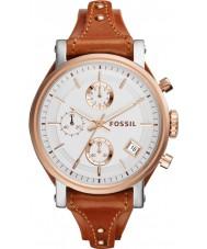 Fossil ES3837 Ladies Original Boyfriend Brown Chronograph Watch