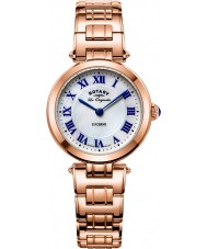 Rotary LB90189-41 Ladies Les Originales Lucerne Rose Gold Steel Bracelet Watch