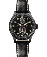 Ingersoll IN3107BBKO Mens Cobham II Black Leather Strap Automatic Watch