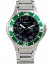 Krug-Baumen 140503KM Vanguard Black Green Steel Watch