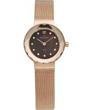 Skagen 456SRR1 Ladies Klassik Rose Gold Mesh Watch