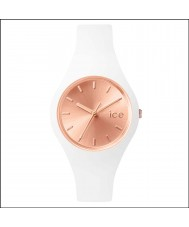 Ice-Watch ICE.CC.WRG.S.S.15 Ladies Ice-Chic White Silicone Strap Small Watch