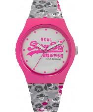 Superdry SYL169EP Ladies Urban Floral Printed Grey Watch