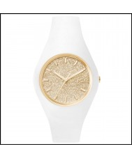 Ice-Watch 001350 Ice-Glitter Exclusive White Silicone Strap Watch