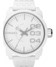 Diesel Mens Franchise White Watch